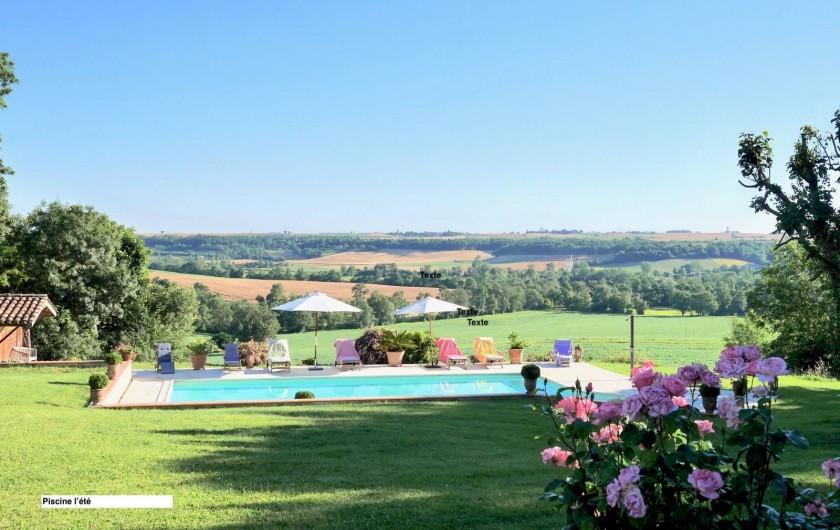 Location de vacances - Maison - Villa à Monfort - Piscine de 6x12