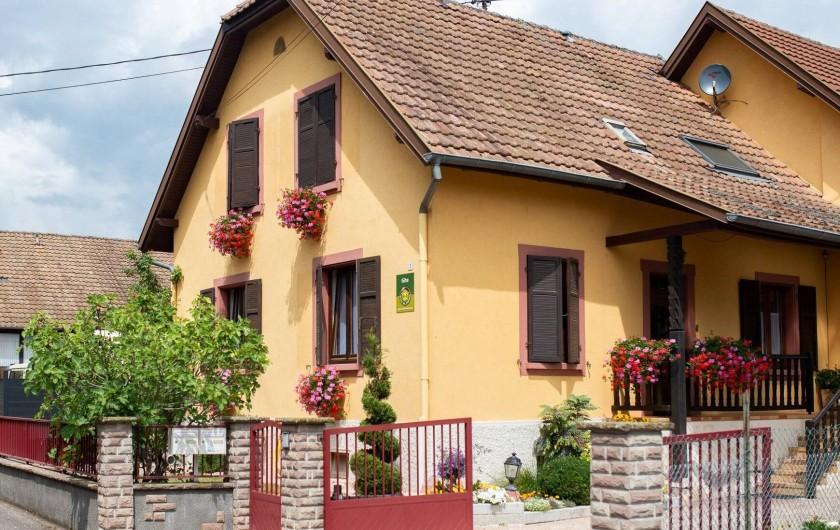 Location de vacances - Gîte à Muttersholtz - Le gite