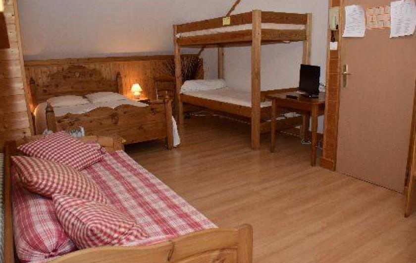 Location de vacances - Hôtel - Auberge à Saint-François-Longchamp - Chambre quadruple
