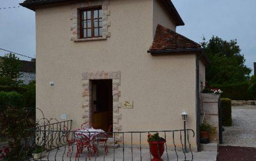 Location de vacances - Gîte à Ladoix-Serrigny - gite la cadée