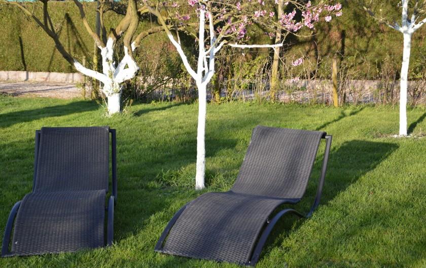 Location de vacances - Gîte à Ladoix-Serrigny - jardin