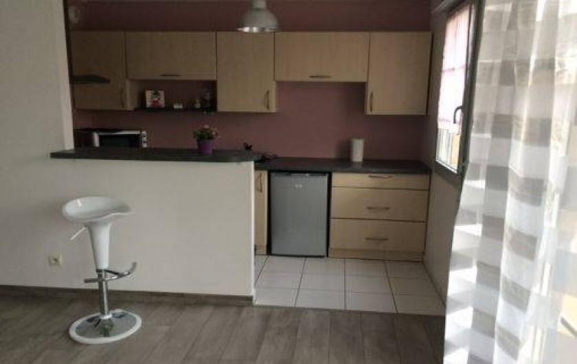 Location de vacances - Studio à Montévrain - cuisine