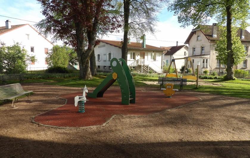 Location de vacances - Appartement à Granges-sur-Vologne - Dans le village à 500m de la maison