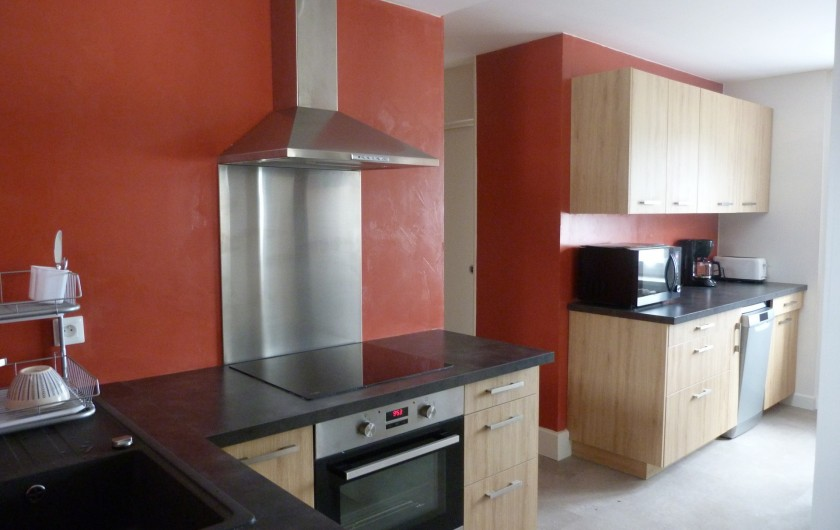 Location de vacances - Appartement à Granges-sur-Vologne - Lave-vaisselle,  micro onde, grille pain, cafetière électrique