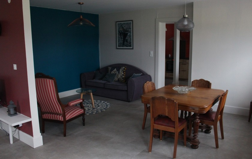 Location de vacances - Appartement à Granges-sur-Vologne - 1er salon- salle à manger