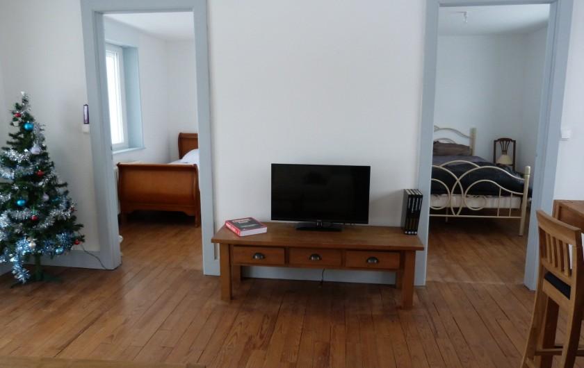 Location de vacances - Appartement à Granges-sur-Vologne - Donnant sur les chambres