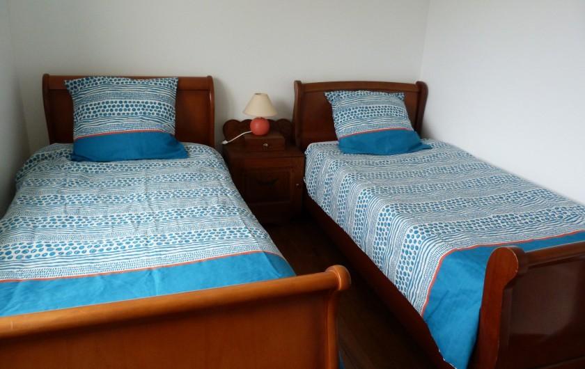 Location de vacances - Appartement à Granges-sur-Vologne - 3ème chambre 2 lits, dressing,