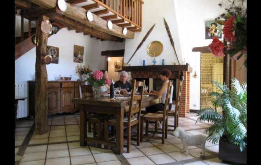 Location de vacances - Maison - Villa à Venes - Salle à manger
