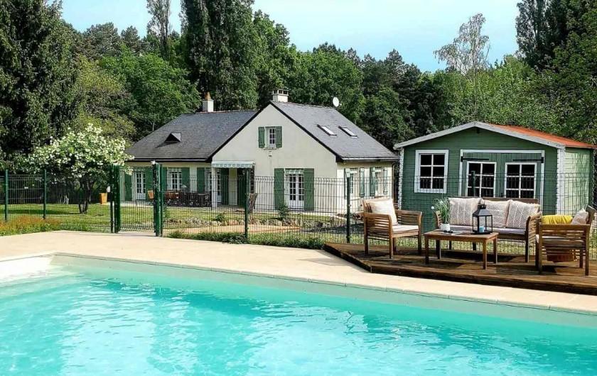 Location de vacances - Villa à Saumur - Premier salon