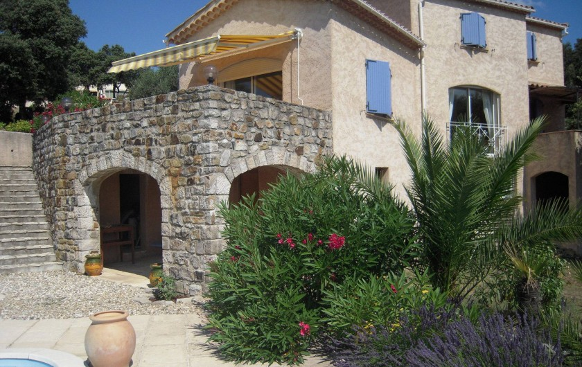 Location de vacances - Villa à Saint-Martin-de-Valgalgues
