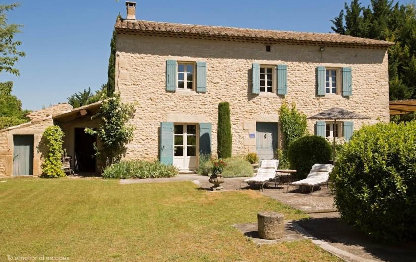 Location de vacances - Mas à Gordes - La villa