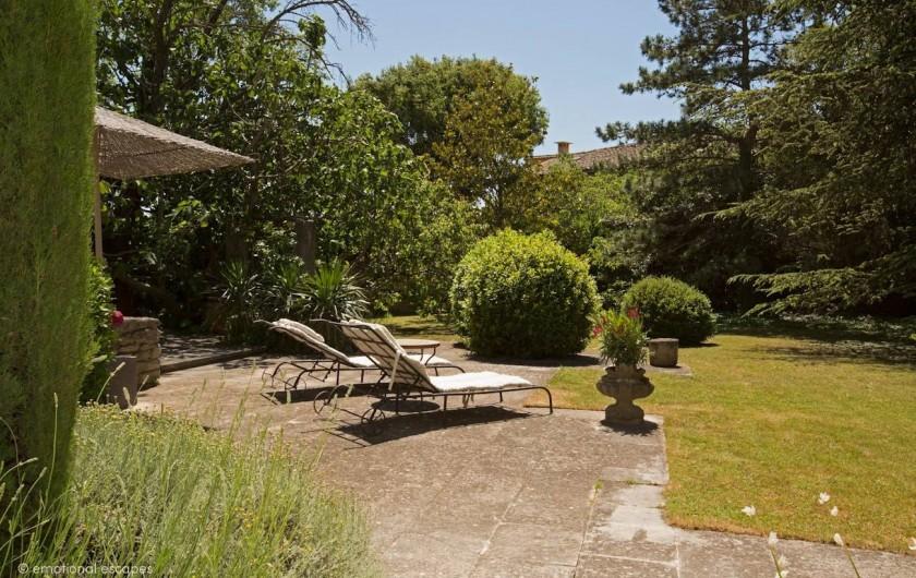 Location de vacances - Mas à Gordes - Le jardin