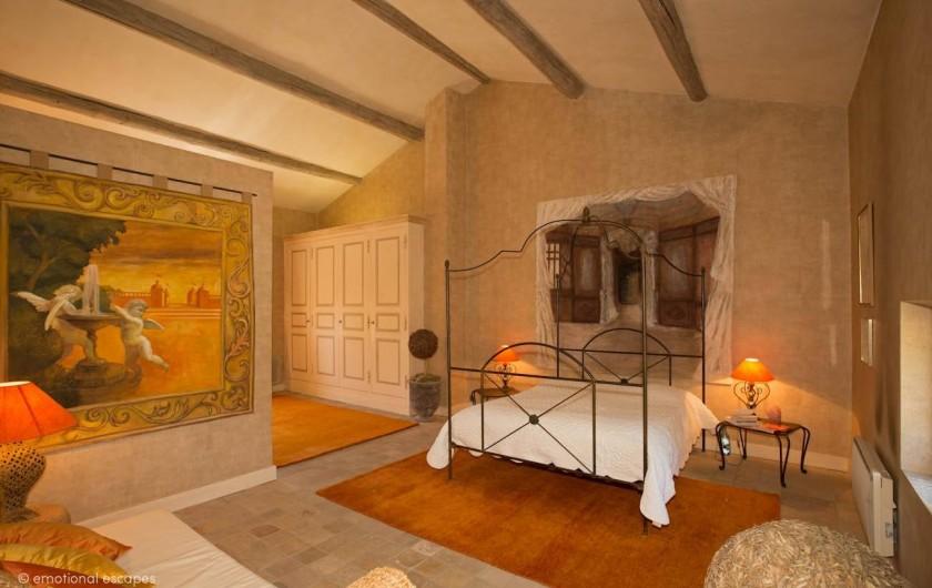 Location de vacances - Mas à Gordes - 1 ère Chambre