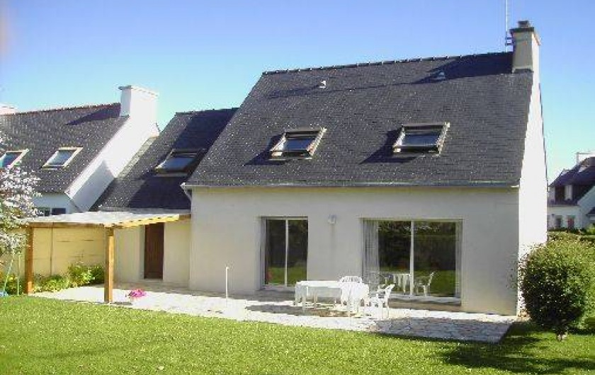 Location de vacances - Maison - Villa à Loctudy - Terrasse Sud Jardin clos