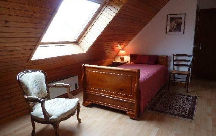 Location de vacances - Maison - Villa à Loctudy - Loggia - Chambre