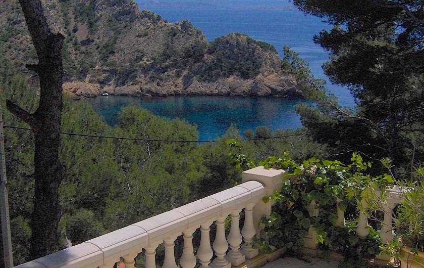 Location de vacances - Villa à Ensuès-la-Redonne - Terrasse du bas