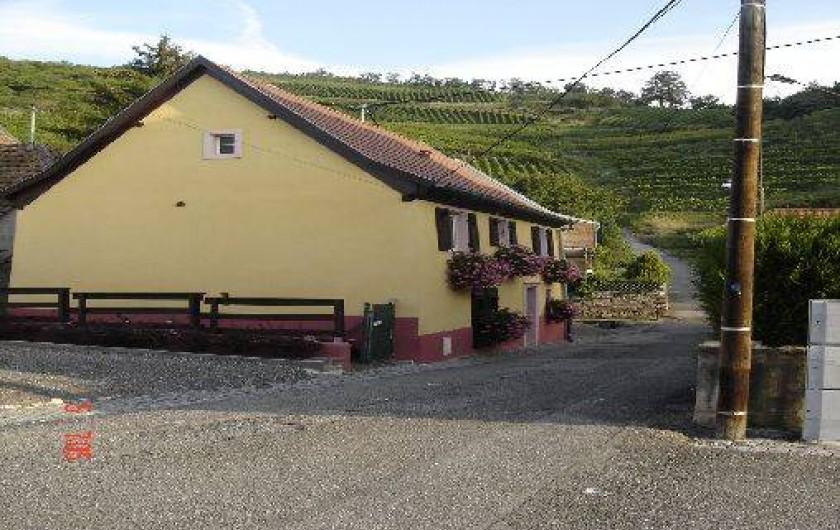 Location de vacances - Gîte à Niedermorschwihr