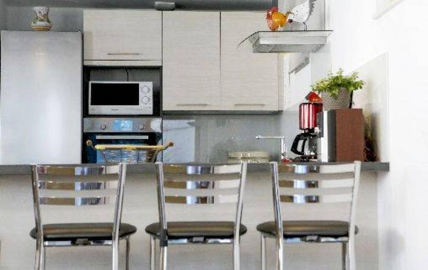Location de vacances - Villa à Beblenheim - Cuisine équipé