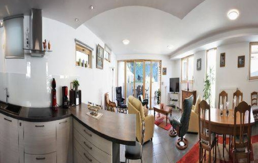 Location de vacances - Villa à Beblenheim - Salon