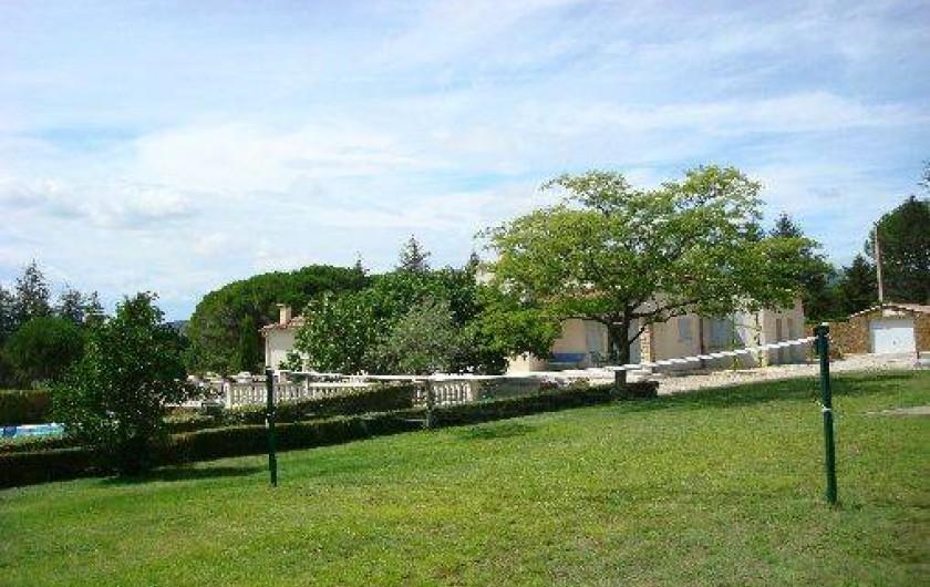 Location de vacances - Villa à Aubignan