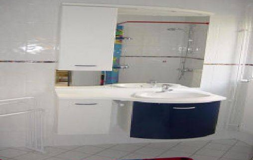 Location de vacances - Appartement à Sondernach - Sale de douche
