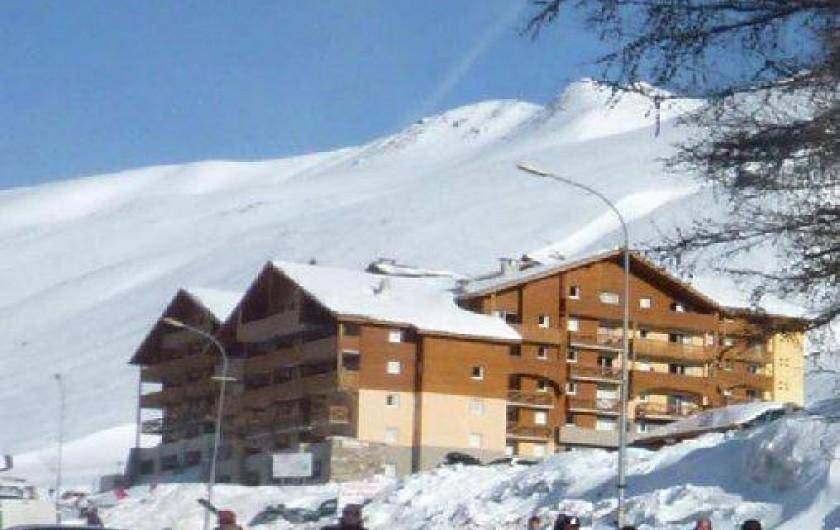 Location de vacances - Appartement à La Foux d'Allos - La Résidence, l'hiver