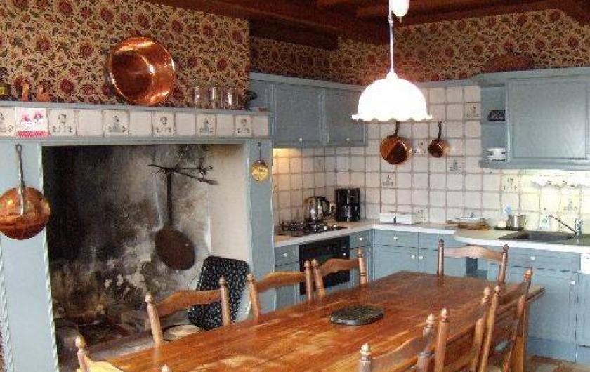 Location de vacances - Maison - Villa à Granville - Cuisine