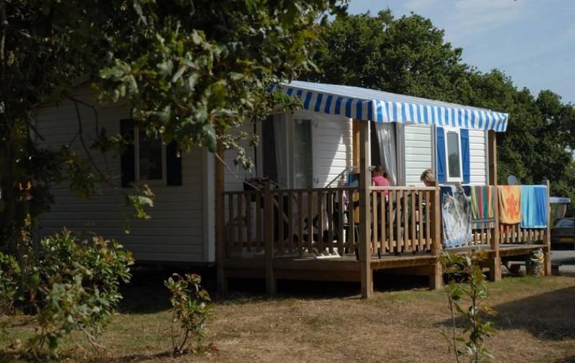 Location de vacances - Bungalow - Mobilhome à Landevieille - Location de mobil-home 2 ou 3 chambres