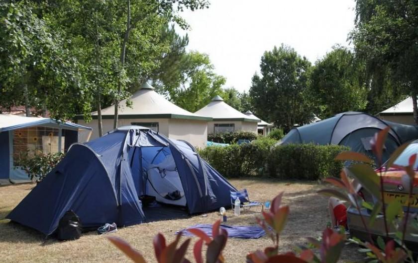 Location de vacances - Bungalow - Mobilhome à Landevieille - Emplacement tente ou caravane