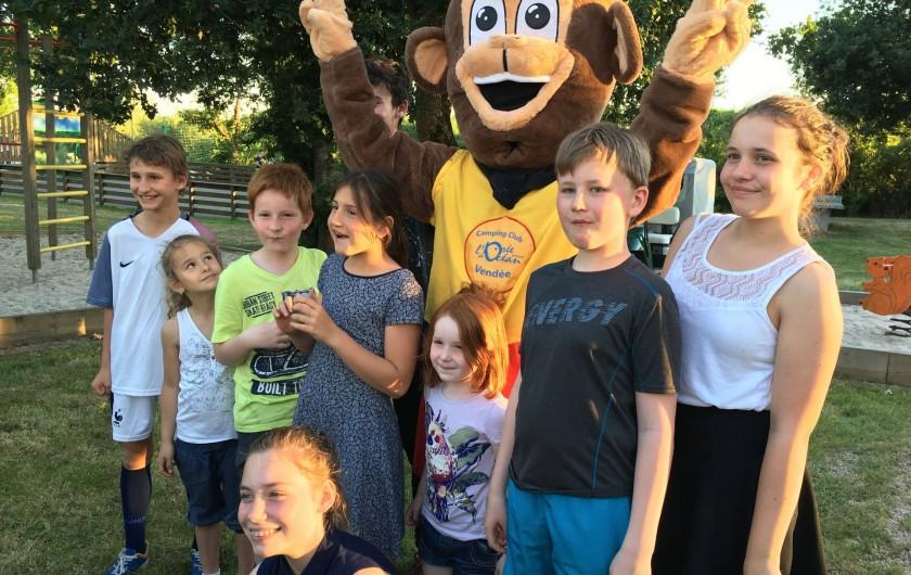 Location de vacances - Bungalow - Mobilhome à Landevieille - Venez vivre un séjour inoubliable avec notre mascotte BOBI