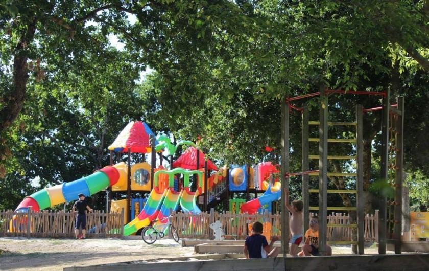 Location de vacances - Bungalow - Mobilhome à Landevieille - Découvrez le château des toboggans, le paradis des enfants