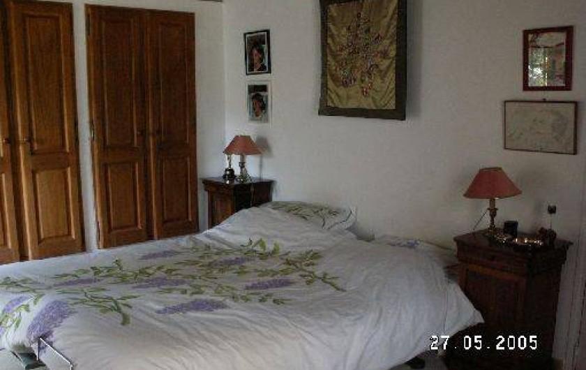 Location de vacances - Mas à Beaurecueil - Chambre 1 au rdc