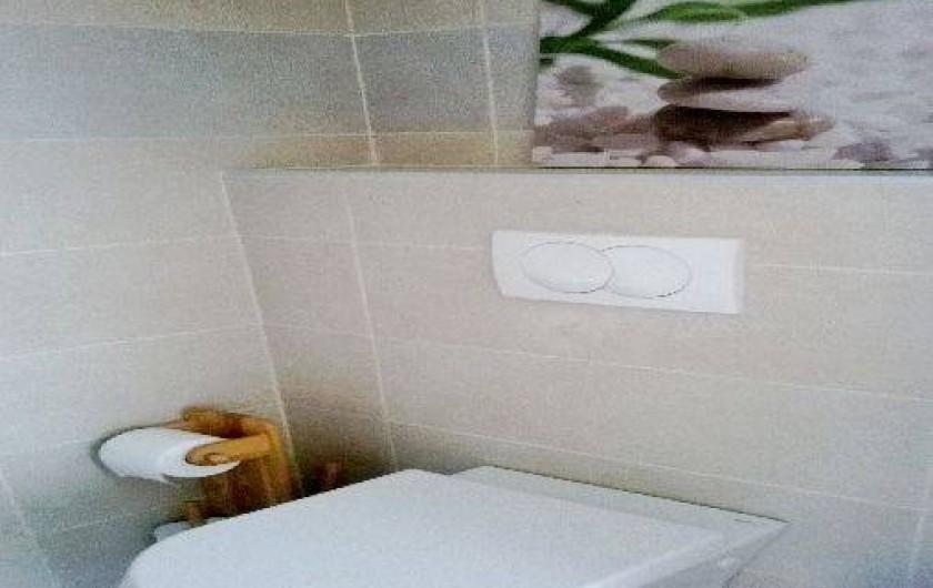 Location de vacances - Appartement à Nice - WC suspendus