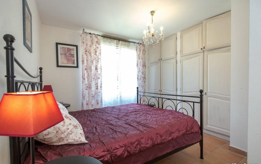 Location de vacances - Villa à Fayence - chambre romantique