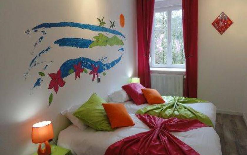 Location de vacances - Gîte à Arc-sous-Cicon - 2 lits de 90 x 190