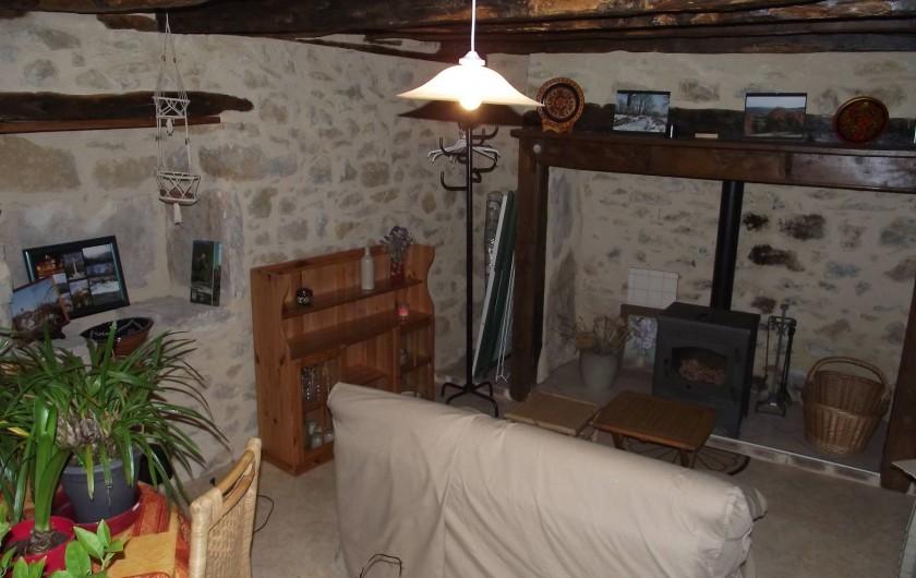 Location de vacances - Gîte à Loubressac - salon