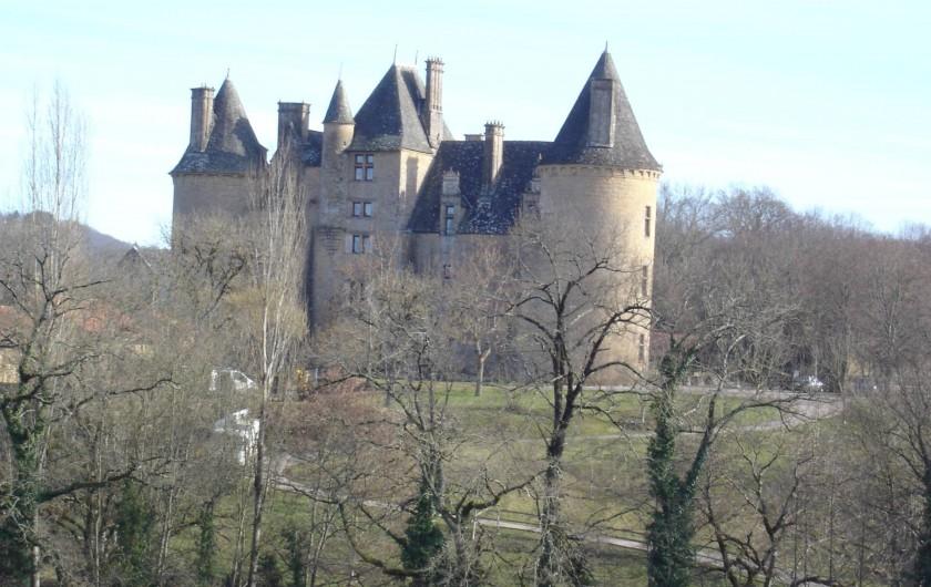 Location de vacances - Gîte à Loubressac - château de Montal à St jean Lespinasse