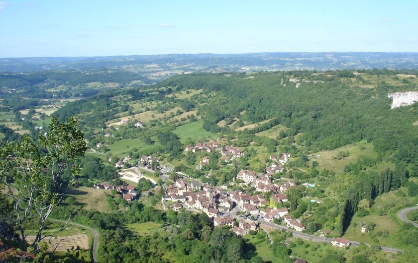 Location de vacances - Gîte à Loubressac - le village  d'Autoire