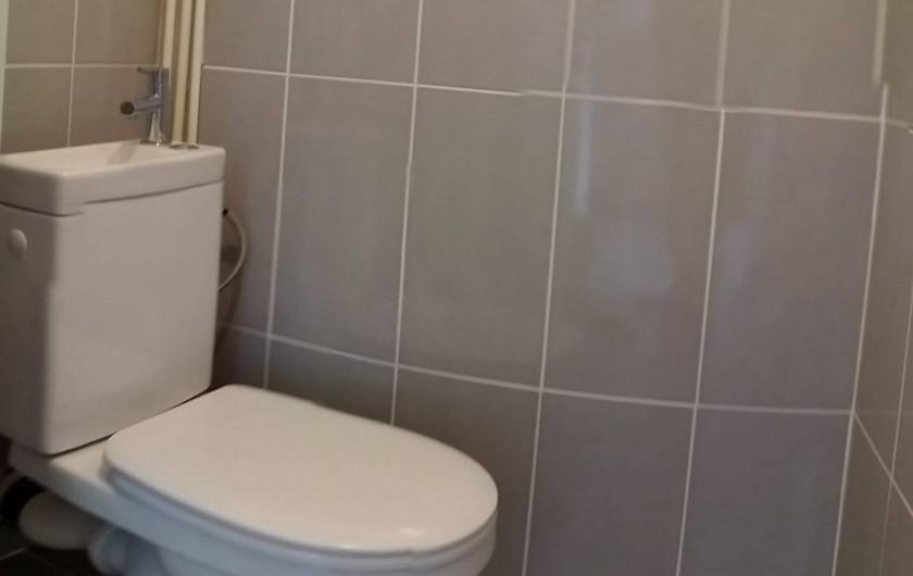 Location de vacances - Appartement à Palavas-les-Flots - WC indépendant.