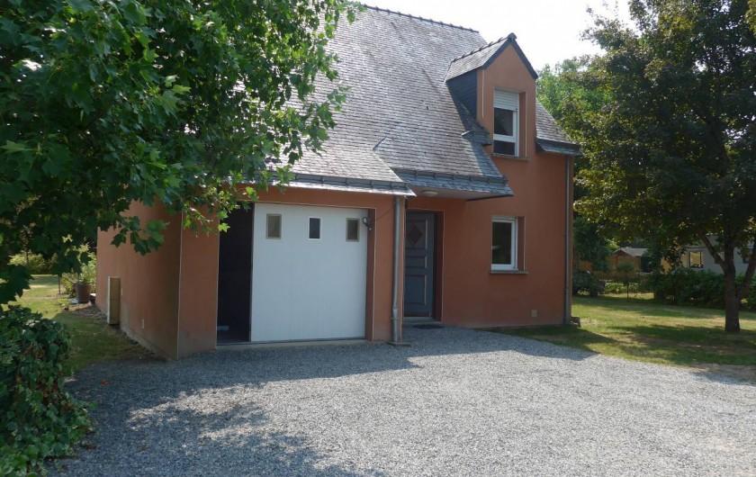 Location de vacances - Chambre d'hôtes à Camoël - Coté entrée