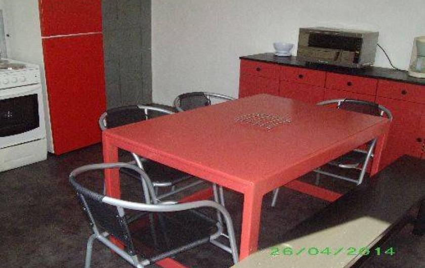Location de vacances - Appartement à Isolaccio-Di-Fiumorbo - Cuisine