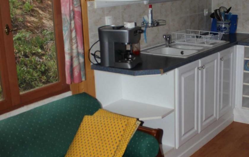 Location de vacances - Chalet à Sainte-Maxime - la cuisine