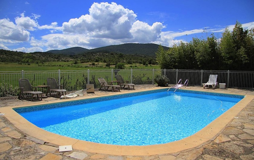 Location de vacances - Appartement à Saint-Hippolyte-du-Fort - La Piscine