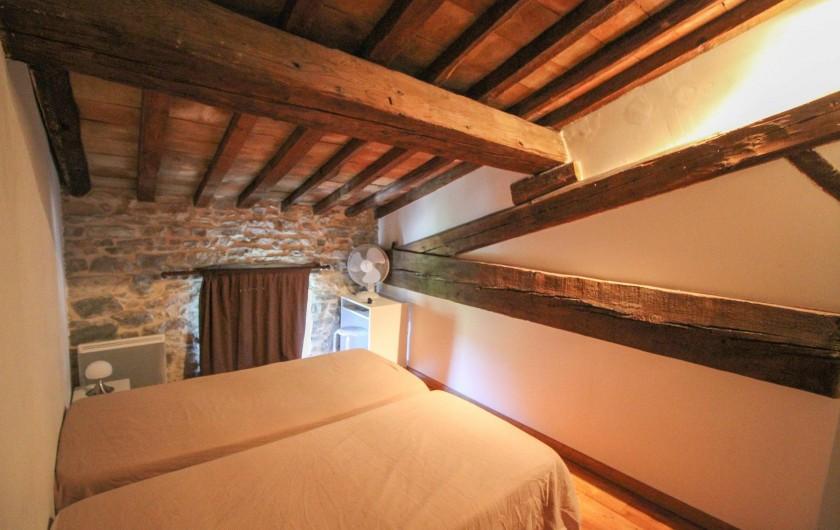 Location de vacances - Appartement à Saint-Hippolyte-du-Fort - Chambre à 2 lits