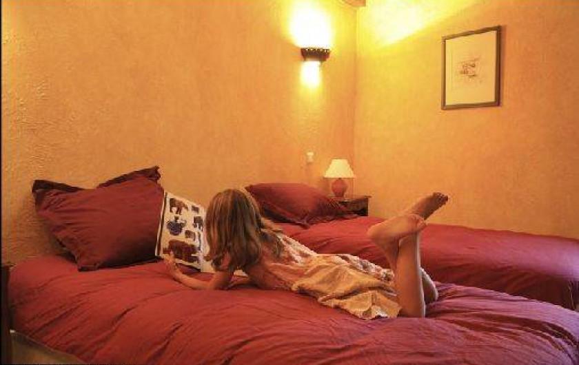 Location de vacances - Gîte à Mondon - Chambre double