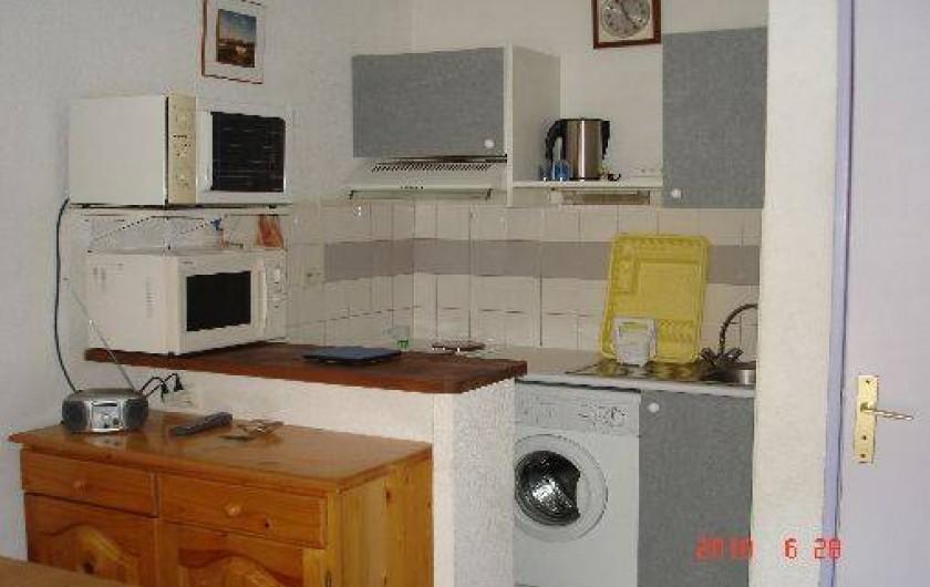 Location de vacances - Maison - Villa à Portiragnes - coin suisine