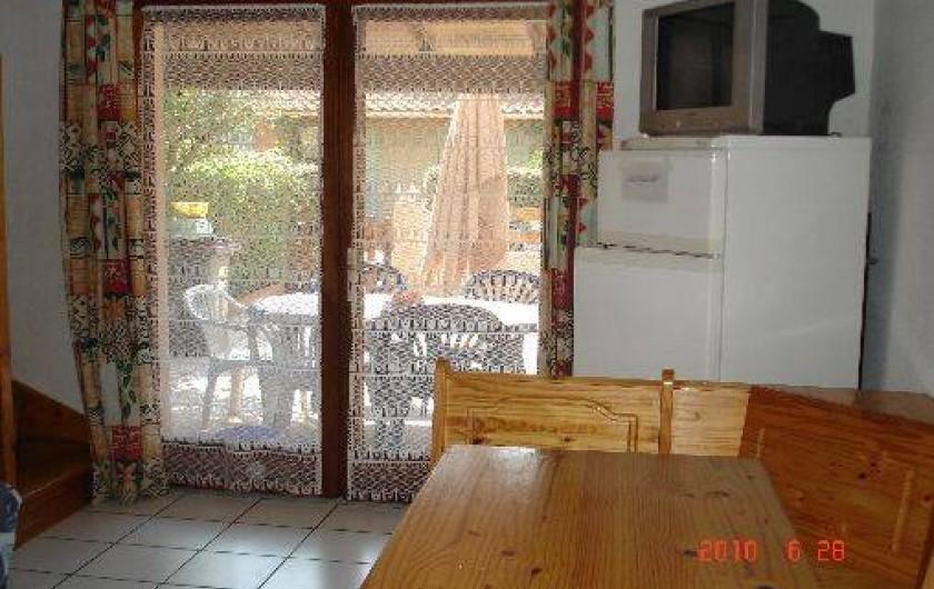 Location de vacances - Maison - Villa à Portiragnes - salle de séjour coinrepas