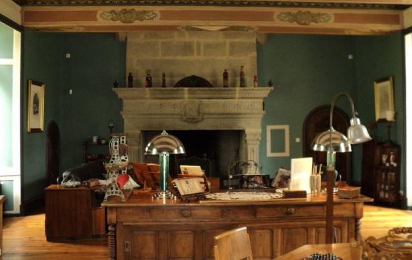 Location de vacances - Chambre d'hôtes à Trélévern - LE SALON
