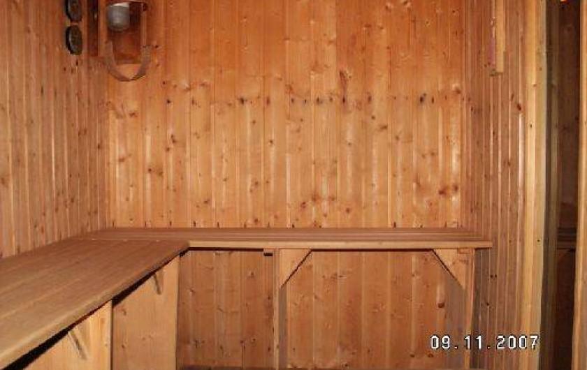 Location de vacances - Gîte à Saint-Amarin - Sauna