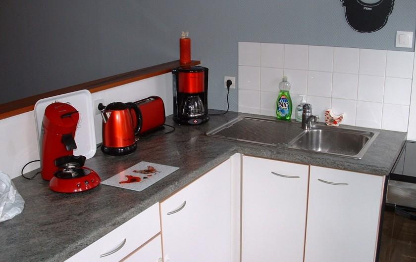 Location de vacances - Appartement à Saint-Valery-sur-Somme - coin cuisine